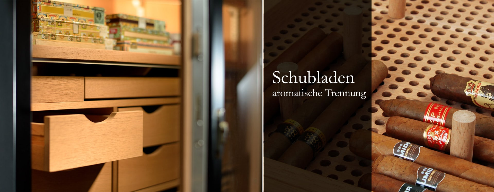 GERBER Humidor Schubladen