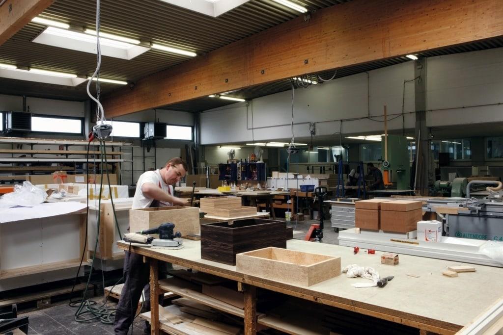 Gerber Humidor Werkstatt 4