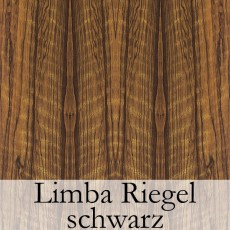 Limba Riegel schwarz