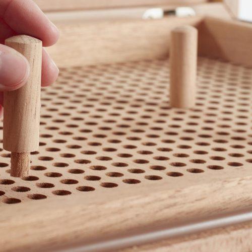 Cube Tischhumidor C Pins GERBER Humidor