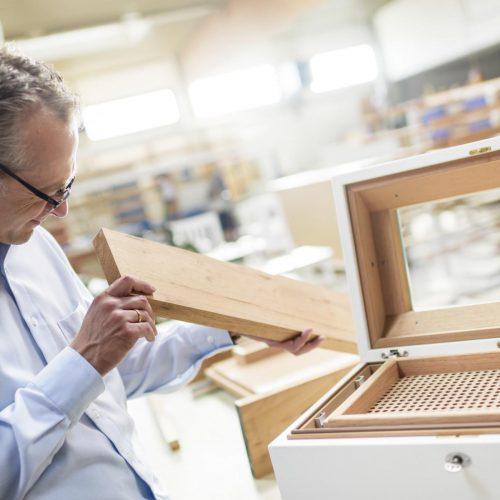 Gerber Humidor Qualitätskontrolle der Materialien