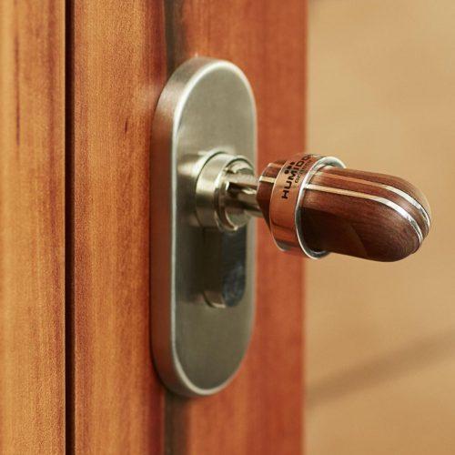 Gerber Humidor Number One Schlüssel aus Sterlingsilber und Edelholz