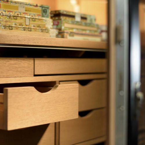 Gerber Humidor Number One Schubladen aus spanischen Zedernholz